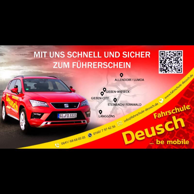 Logo: Deusch Fahrschule