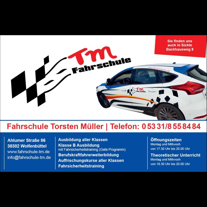 Logo: TM Fahrschule Torsten Müller