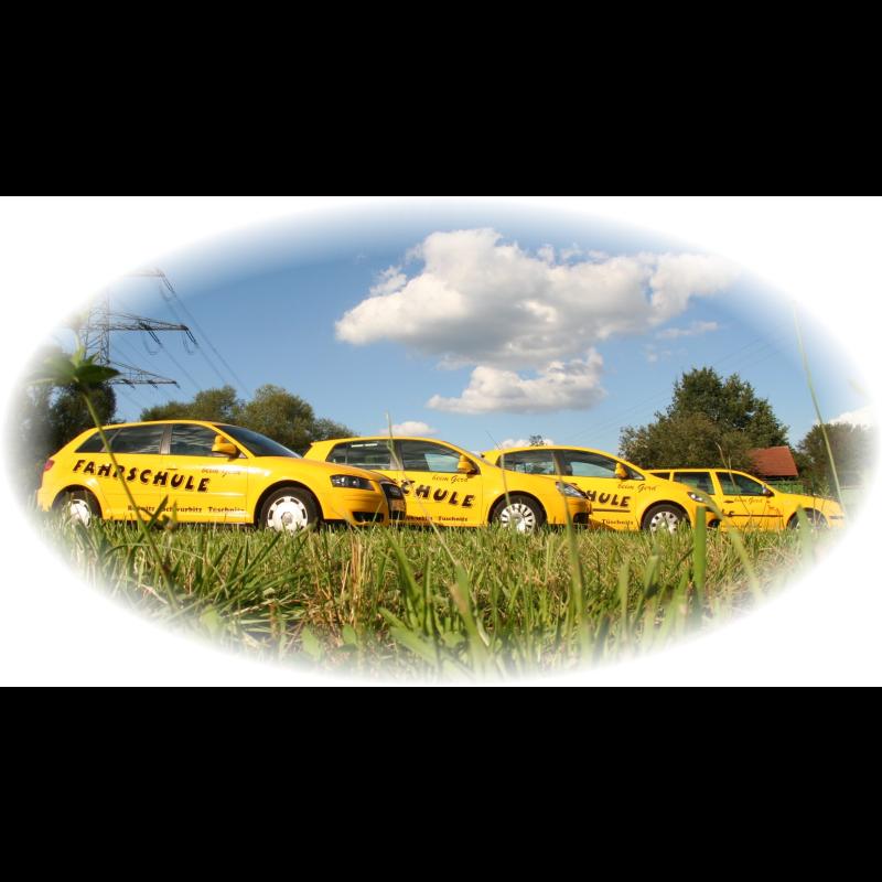 """Logo: Fahrschule """"beim Gerd"""""""