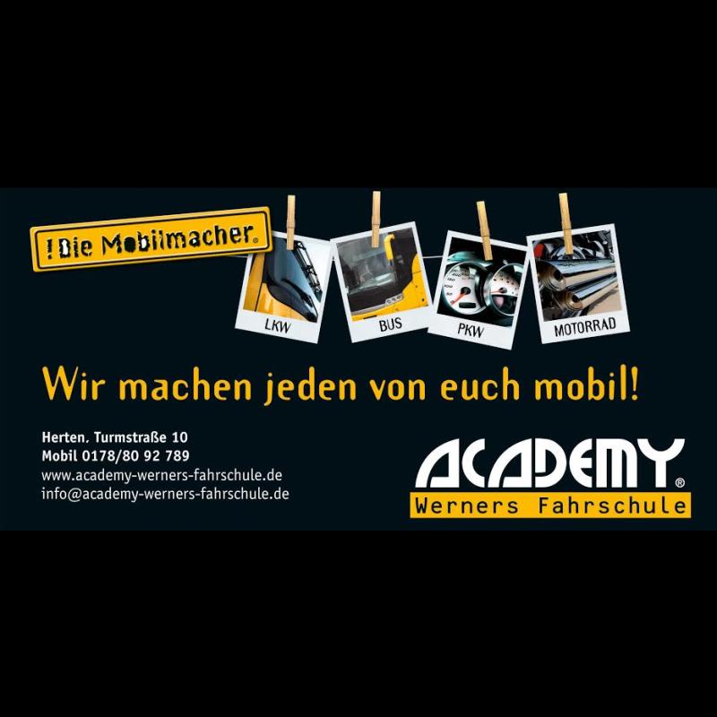 Logo: ACADEMY Werners Fahrschule GmbH