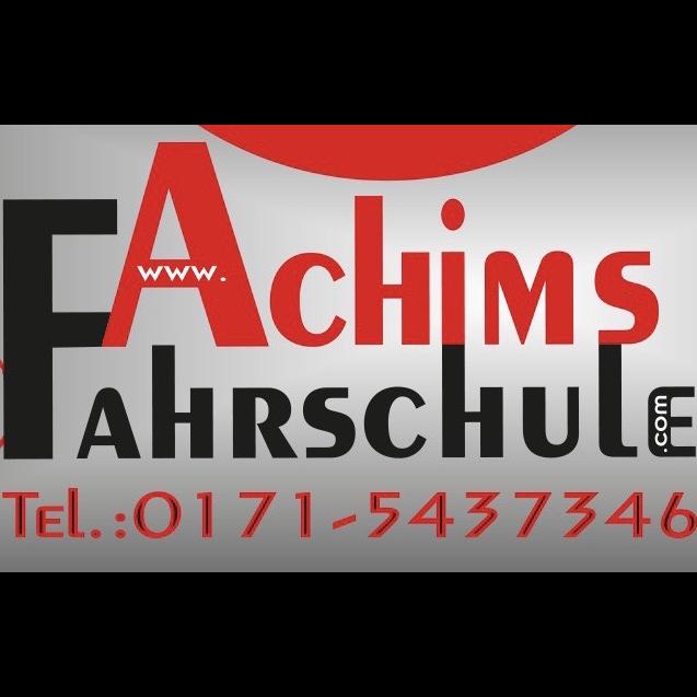 Logo: Achims Fahrschule