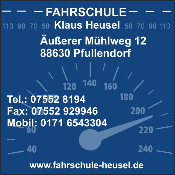 Logo: Klaus Heusel Fahrschule
