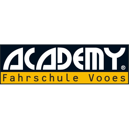 Logo: ACADEMY Fahrschule Vooes