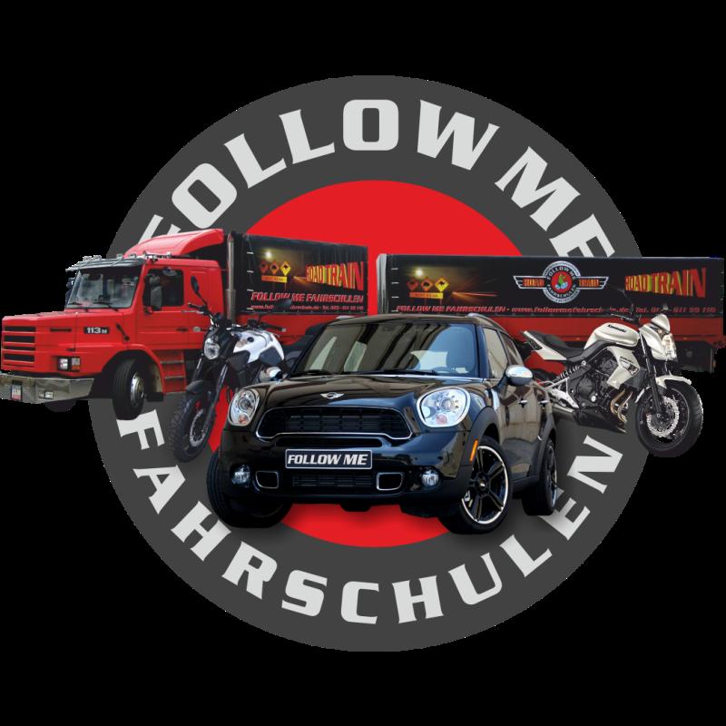 Logo: FOLLOW ME Fahrschule GmbH