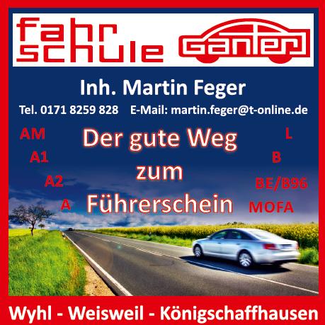 Logo: Fahrschule Ganter