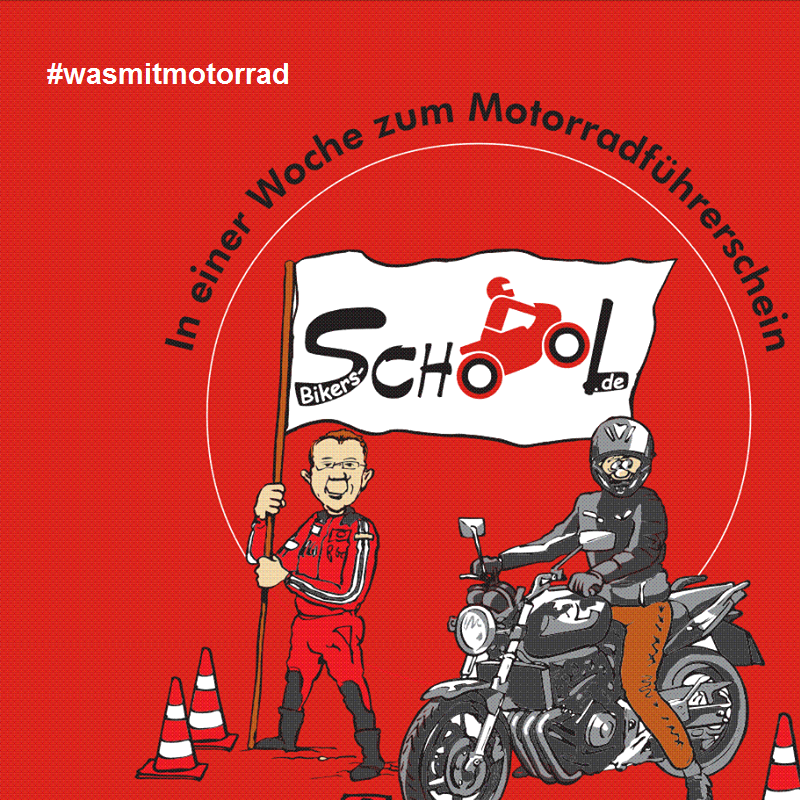 Logo: Fahrschule am Vorpark - Bikers School Team