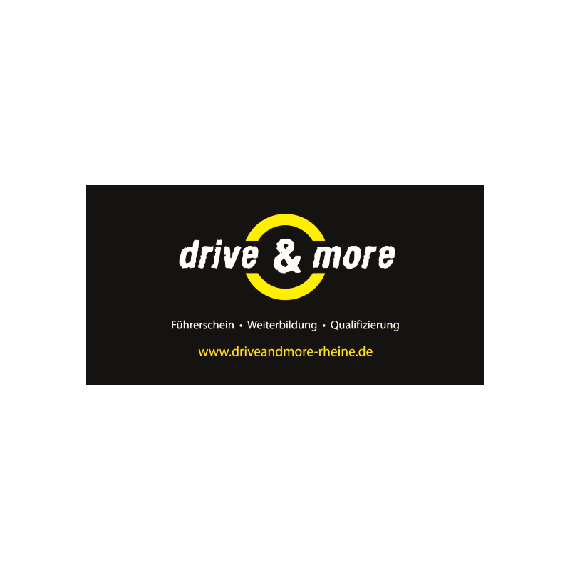 Logo:  drive & more by Fahrschule Wevers