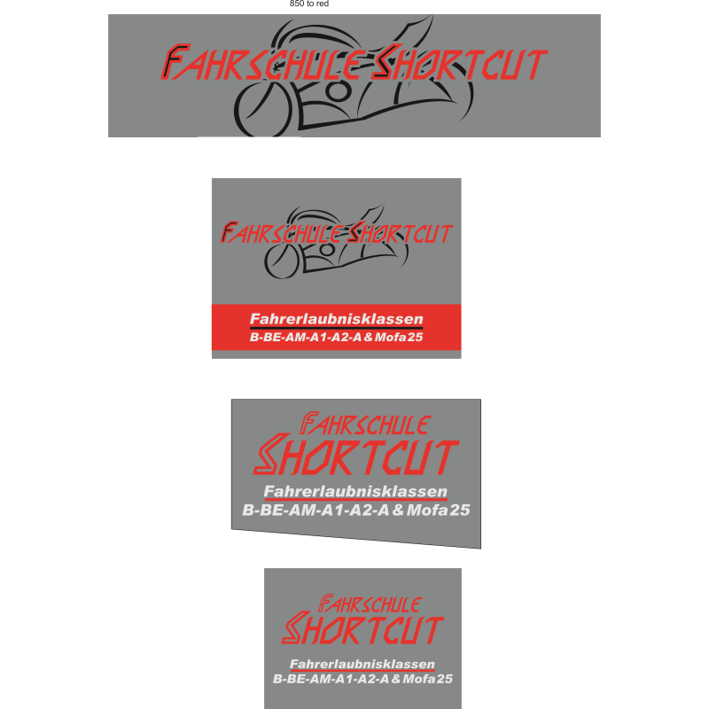 Logo: Fahrschule Shortcut