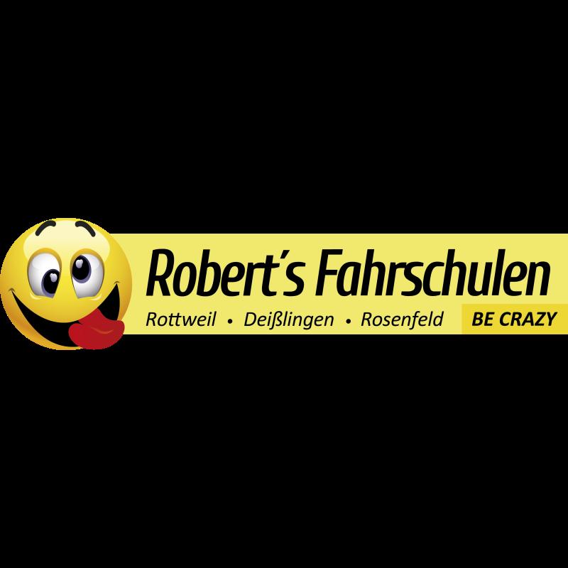 Logo: Roberts-Fahrschulen (Roth, Crazy-Drive & ehem.Hezel)