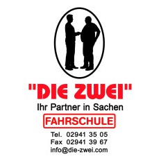 Logo: DIE ZWEI Fahrschule
