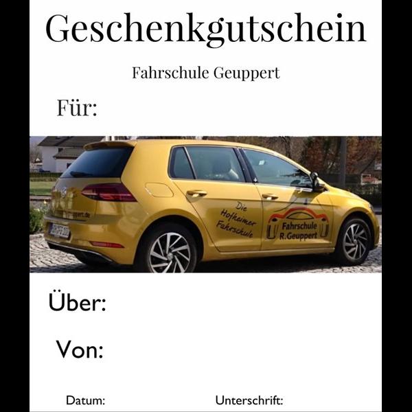 Logo: Fahrschule R. Geuppert