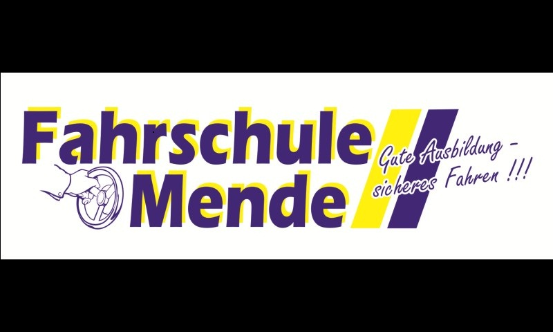 Logo: Mende GbR Fahrschule