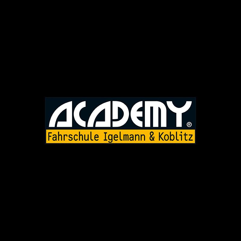 Logo: ACADEMY Fahrschule Igelmann & Koblitz