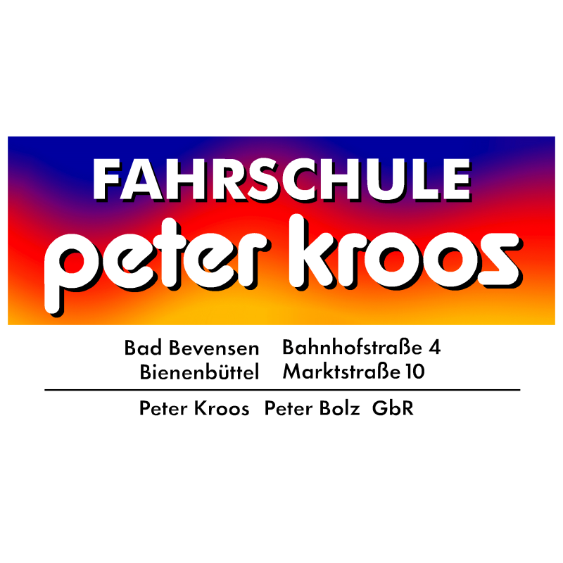 Logo: Peter Kroos Fahrschule