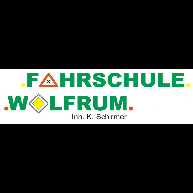 Logo: FAHRSCHULE WOLFRUM
