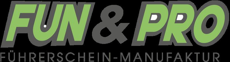 Logo: FUN & PRO Führerschein-Manufaktur