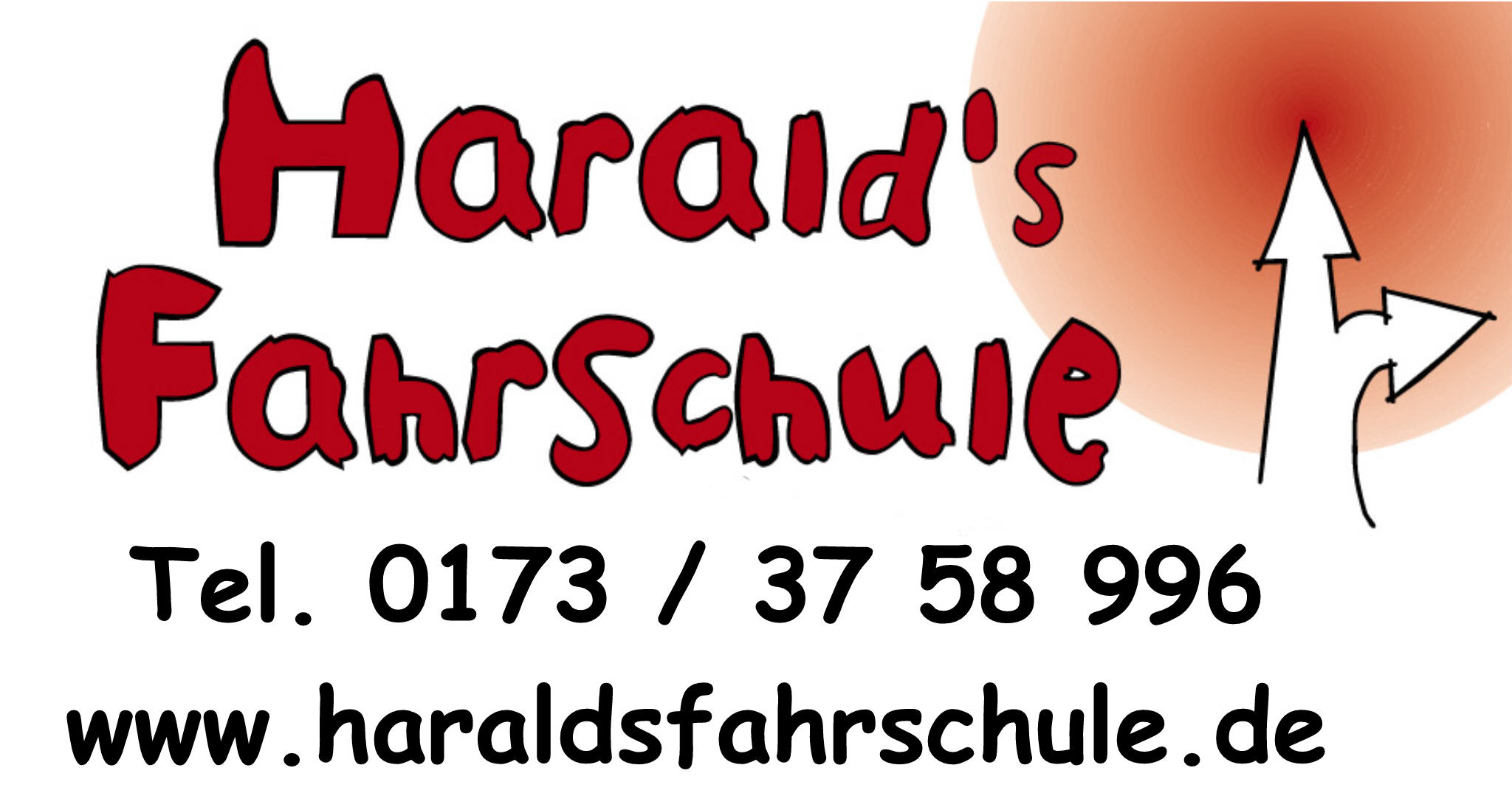 Logo: Harald's Fahrschule