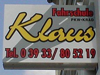 Logo: Fahrschule Klaus