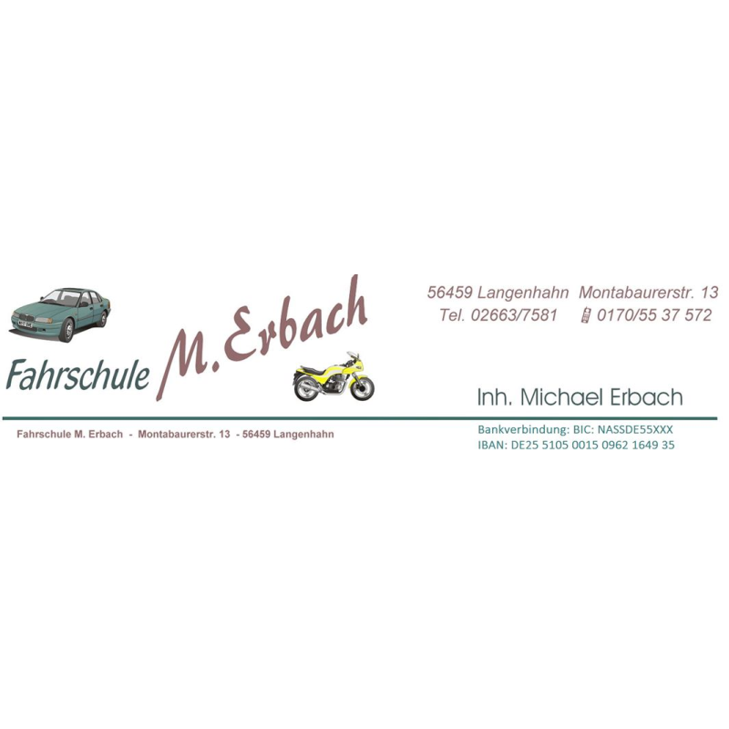 Logo: Michael Erbach Fahrschule