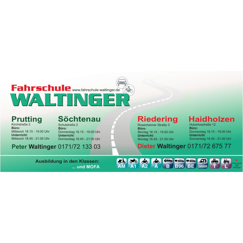 Logo: Fahrschule Waltinger