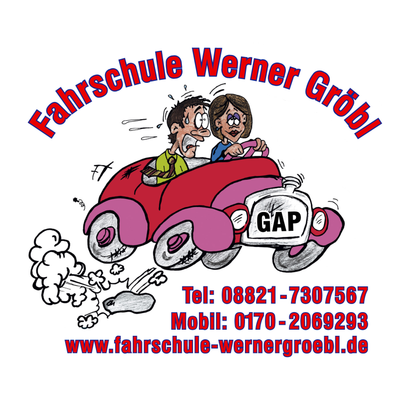 Logo: Gröbl Werner Fahrschule