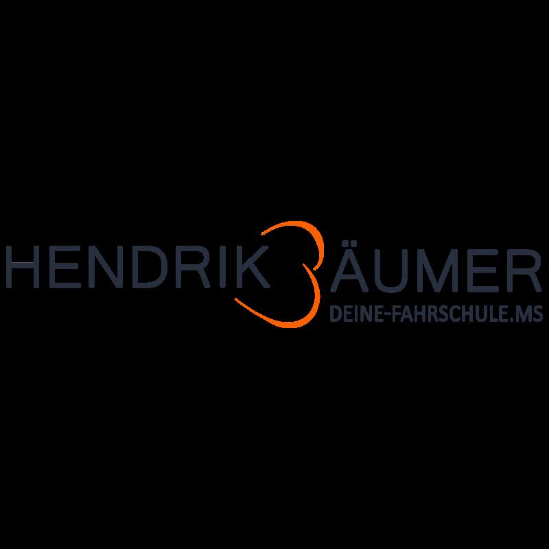 Logo: Hendrik Bäumer - Deine Fahrschule.