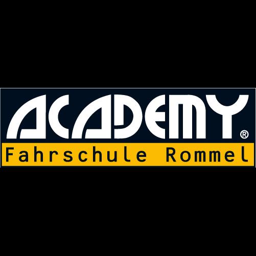 Logo: ACADEMY Fahrschule Rommel