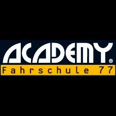 Logo: ACADEMY Fahrschule 77