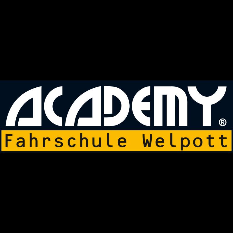 Logo: ACADEMY Fahrschule Welpott GmbH