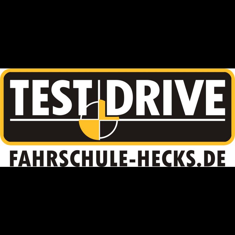 Logo: TEST DRIVE - Fahrschule Hecks
