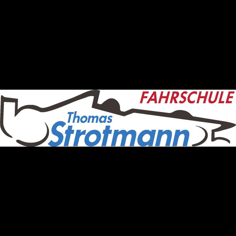 Logo: Fahrschule Thomas Strotmann Übungsplatz