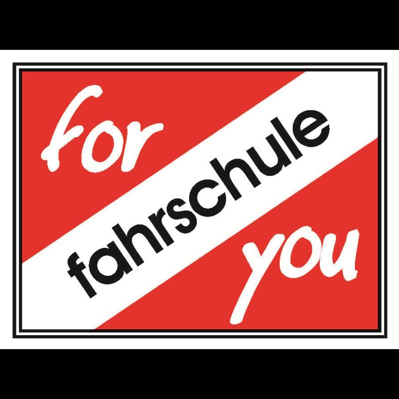 Logo: Fahrschule for you