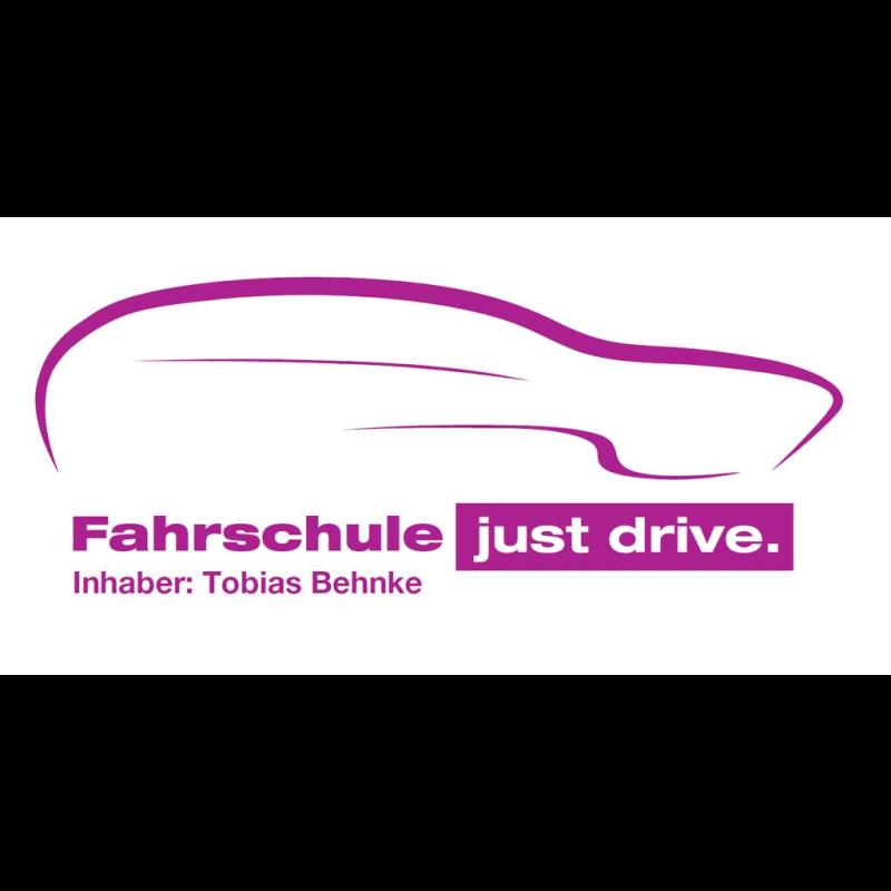 Logo: Fahrschule just drive.