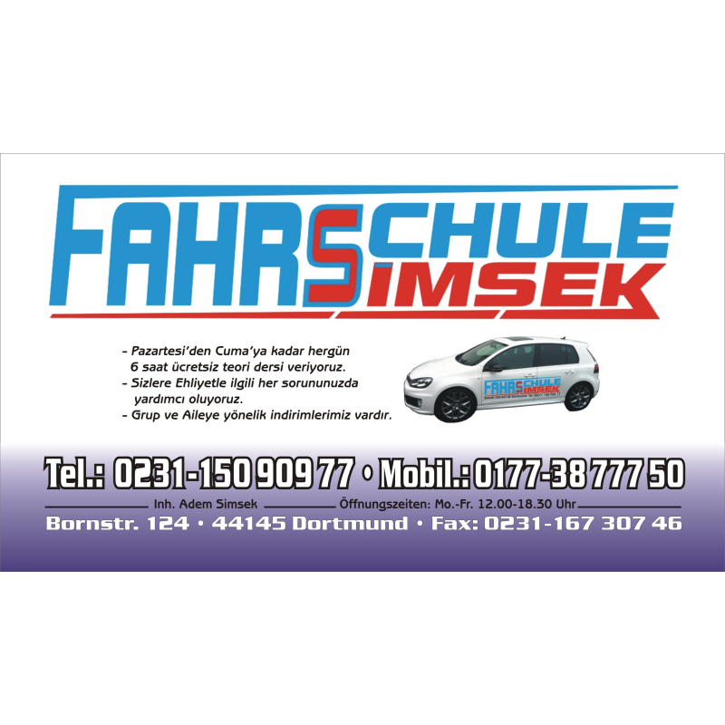 Logo: Fahrschule Simsek