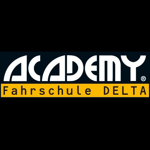 Logo: ACADEMY Fahrschule DELTA
