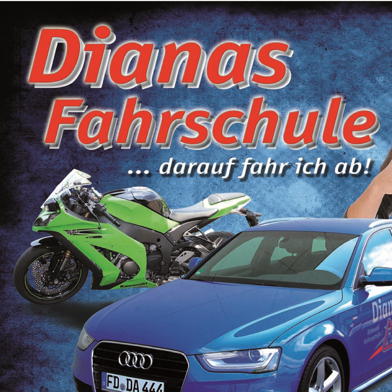 Logo: Dianas Fahrschule