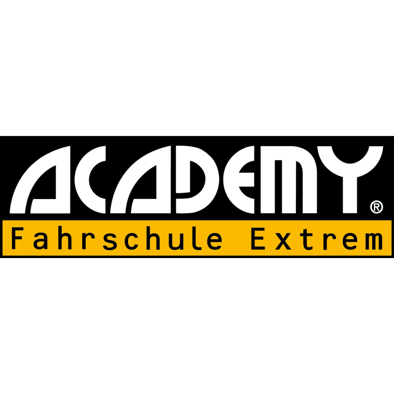 Logo: ACADEMY Fahrschule Extrem