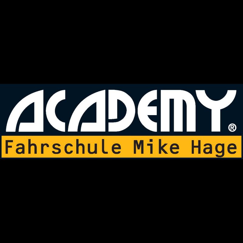 Logo: ACADEMY Fahrschule Mike Hage