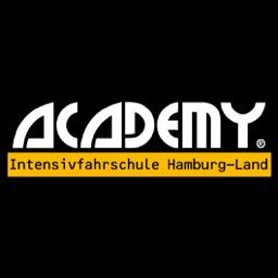 Logo: ACADEMY Intensivfahrschule Hamburg-Land