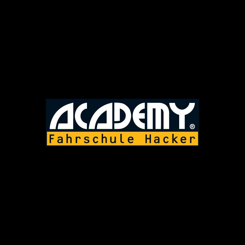 Logo: ACADEMY Fahrschule Hacker