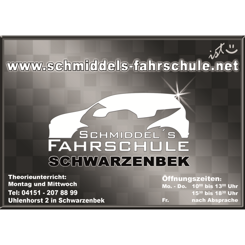 Logo: Schmiddel's Fahrschule