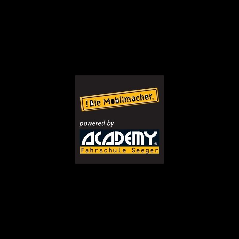 Logo: ACADEMY Fahrschule Seeger