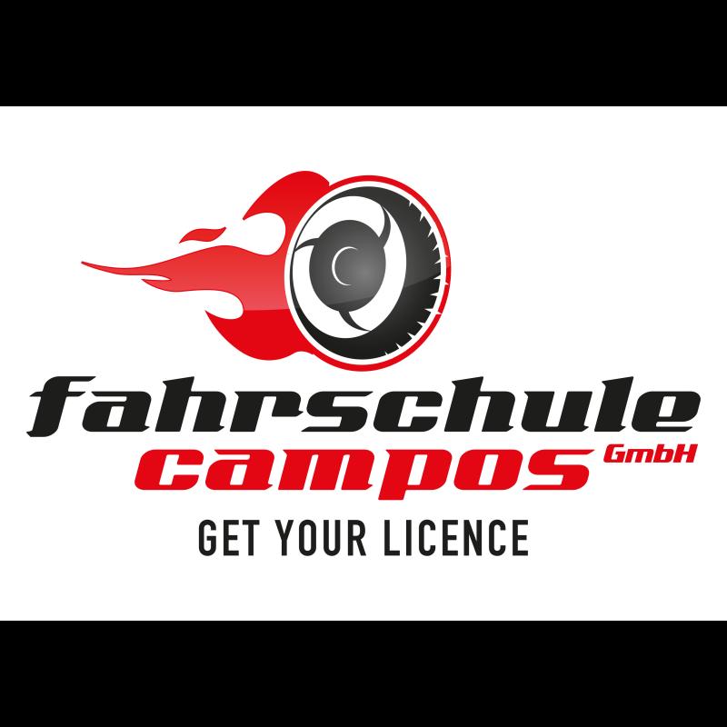 Logo: Fahrschule Campos GmbH (Rot)