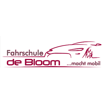 Logo: Fahrschule de Bloom GmbH