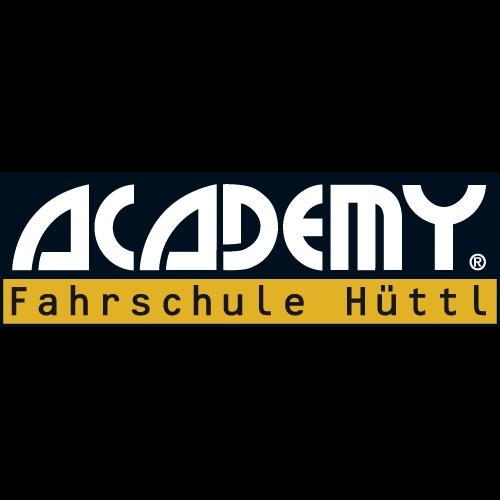 Logo: ACADEMY Fahrschule Hüttl