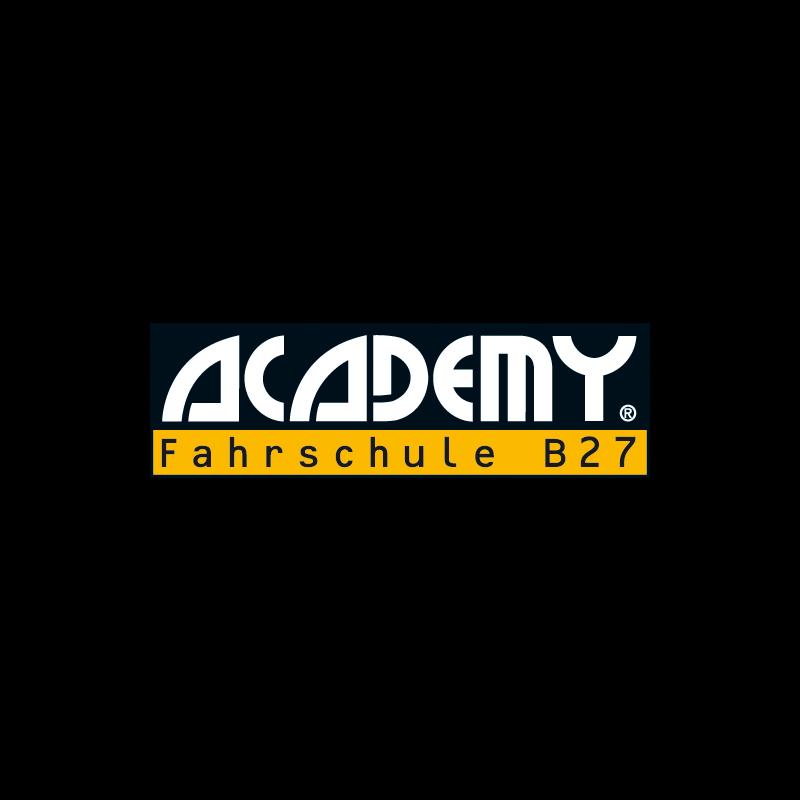 Logo: ACADEMY Fahrschule B27