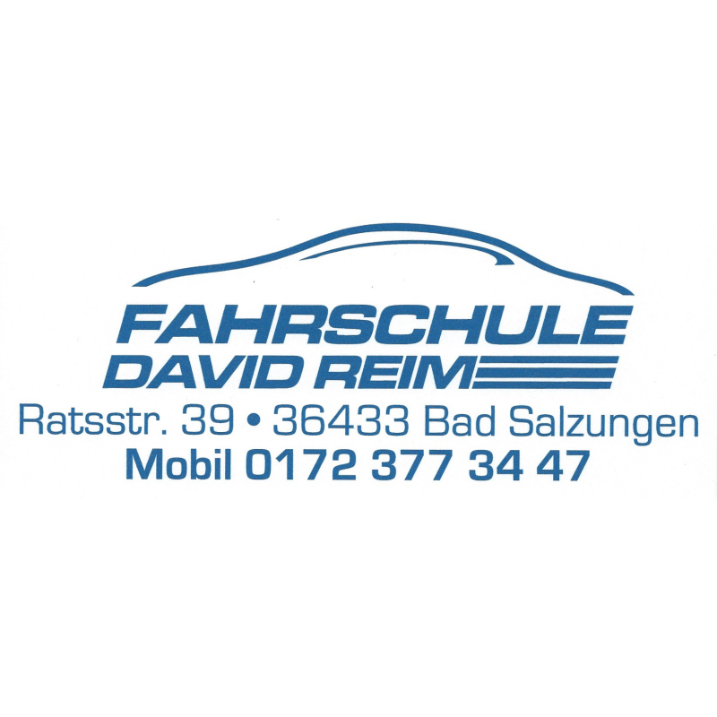 Logo: Fahrschule David Reim