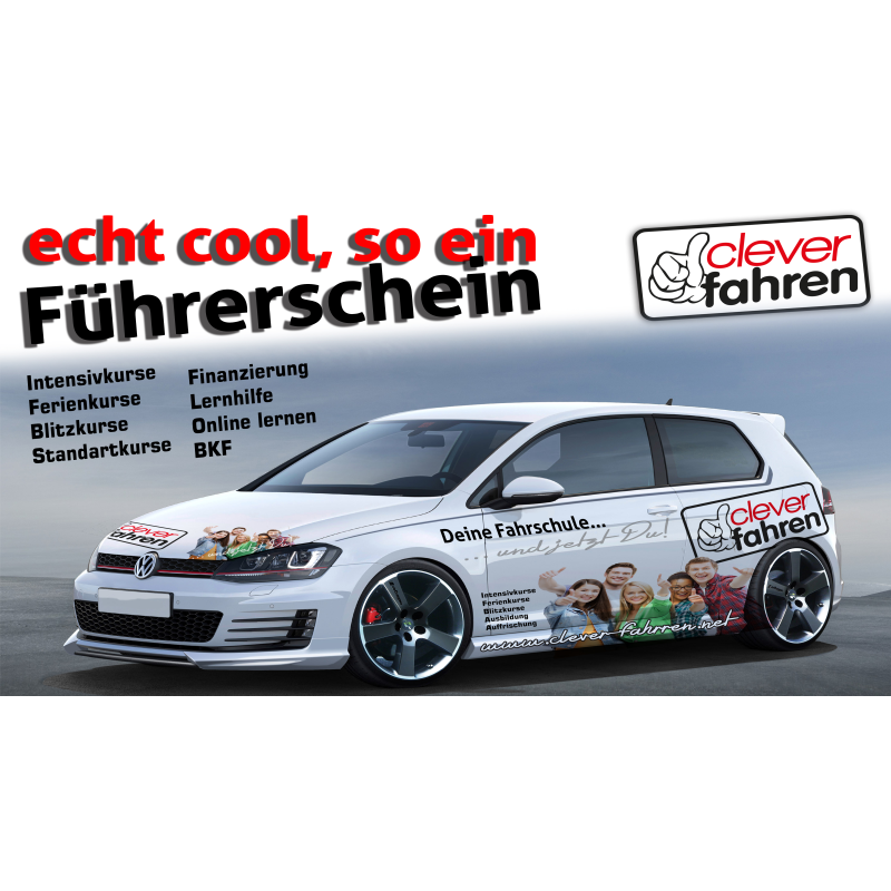 Logo: Fahrschule clever fahren GmbH