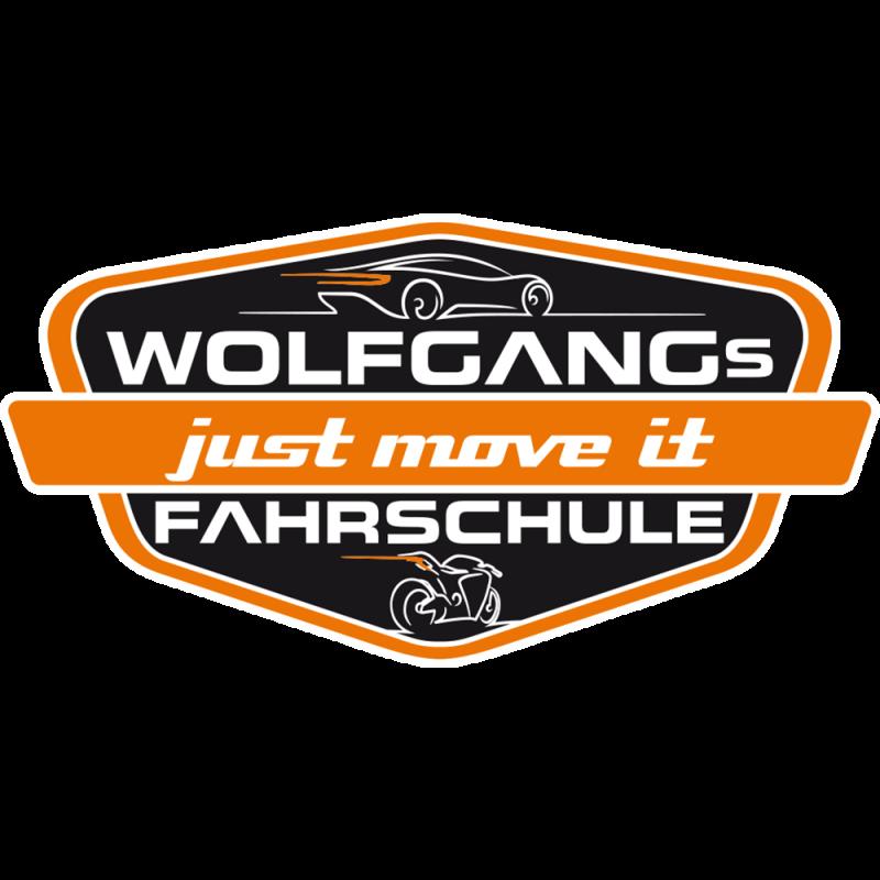 Logo: WOLFGANGs Fahrschule