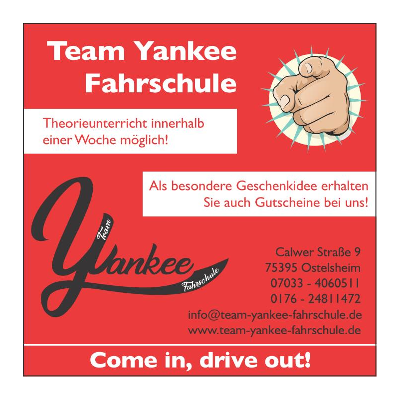 Logo: Team Yankee Fahrschule
